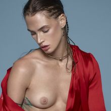 Crista Cober topless Vamp Magazine 2014 Fall Winter photo shoot 9x UHQ