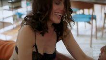 Lisa Edelstein - Girlfriends' Guide to Divorce S03 E05 720p lingerie sex prelude scene