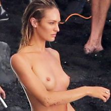 Candice Swanepoel topless Victoria's Secret photoshoot in Hawaii 27x UHQ