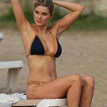 Ashley James sexy bikini candids on the beach in Ibiza 18x UHQ photos