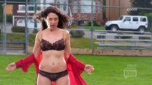 Lisa Edelstein - Girlfriends Guide to Divorce S03 E03 720p lingerie scene