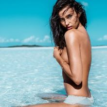 Irina Shayk topless Maxim 2014 July 7x HQ