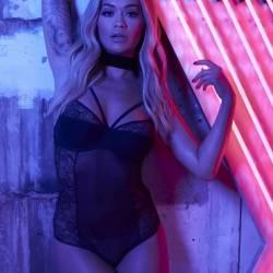 Rita Ora see through Tezenis lingerie campaign 11x HQ photos