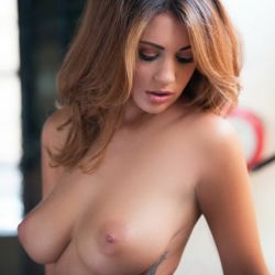 Holly Peers topless Nuts magazine photo shoot 2013 October 49x HQ
