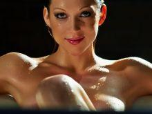 Miriam McDonald nude in Bathtub Coffee Table Book Photo Shoot 4x UHQ