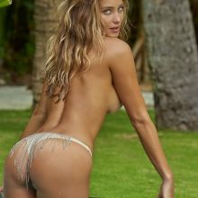 Hannah Davis nude naked topless bodypaint see through Sports Illustrated sexy Swimsuit 2016 photo shoot 30x HQ
