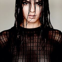 Kendall Jenner see through top photo shoot HQ