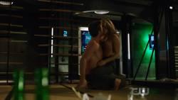 Emily Bett Rickards - Arrow S05 E20 720p lingerie nude sex scene
