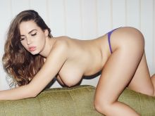 Sabine Jemeljanova nude for May Contain Girl Sweatshirt 9x UHQ photos