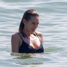 Dylan Penn topless sexy bikini on the beach in Rio 91x UHQ photos