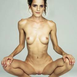 Emma Watson leaked naked spread legs nude photo UHQ