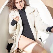Lily Collins sexy for Malibu magazine 2016 December 12x HQ photos