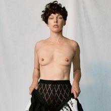 Milla Jovovich topless POP magazine fall-winter 2016 13x HQ photos