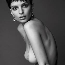 Emily Ratajkowski nude Love magazine naked photoshoot 3x UHQ photos