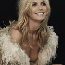 Heidi Klum topless for Sharper Image 2014 photo shoot 29x UHQ