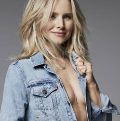 Kristen Bell sexy braless Shape Magazine November 2017 9x HQ photos