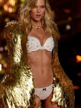 Karlie Kloss sexy 2014 Victoria's Secret Fashion Show in London 15x UHQ