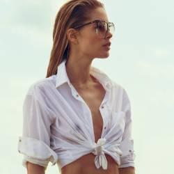 Doutzen Kroes braless see through topless for Vogue magazine June 2017 21x HQ photos