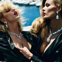 Edita Vilkeviciute & Anja Rubik nude photo shoot for Vogue Paris 20x HQ