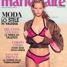 Marloes Horst nude for Marie Claire 2016 July naked topless 39x HQ photos