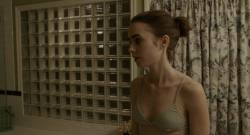 Lily Collins - To The Bone 720p lingerie pokies nude scenes
