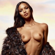 Lais Ribeiro nude Lui magazine 2014 July 5x HQ