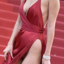 Bella Hadid upskirt cleavage - La Fille Inconnue premiere in Cannes 207x UHQ photos