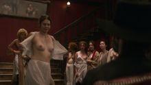 Dakota Fanning, Carice van Houten, Vera Vitali, etc - Brimstone 720p lingerie topless nip slip sex scenes