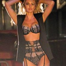 Candice Swanepoel hot on the set of a Victoria's Secret commercial 16x MixQ