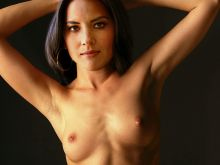 Olivia Munn full frontal nude FHM magazine photo shoot UHQ