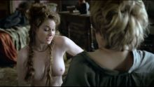 Game of Thrones S01 E01 Esme Bianco topless nude sex scene