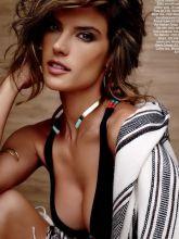 Alessandra Ambrosio sexy Ocean Drive Magazine 2015 February issue 7x HQ