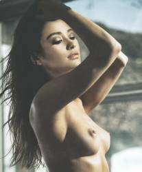 Shay Mitchell nude for Vogue magazine UHQ