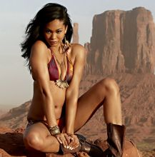 Chanel Iman nude topless bodypaint see through Sports Illustrated sexy Swimsuit 2015 photo shoot 27x HQ