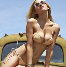 Ashley Smith nude topless bodypaint see through Sports Illustrated sexy Swimsuit 2015 photo shoot 27x HQ