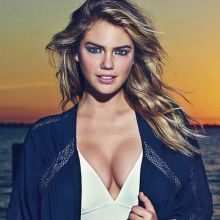 Kate Upton sexy for Express clothing photo shoots 8x HQ