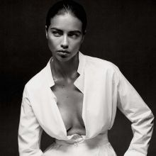 Adriana Lima hot Interview photo shoot 2014 April 9x HQ