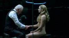 Thandie Newton, Evan Rachel Wood, etc - Westworld S01 E05 720p nude naked topless bondage group sex scenes