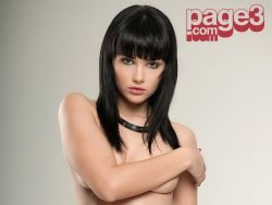 Mellisa Clarke topless Page 3 photo shoot 2013 November 3x HQ