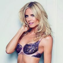 Heidi Klum see through lingerie Intimates collection 2016 Spring-Summer 13x HQ photos