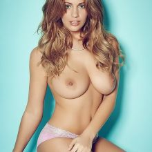 Holly Peers topless Page 3 photo shoot 2014 April 3x HQ