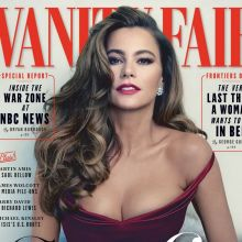 Sofia Vergara topless Vanity Fair magazine 2015 May issue 5x HQ