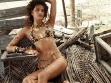 Isabeli Fontana sexy Morena Rosa 2015 Spring Summer 10x HQ