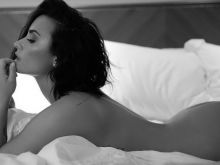 Demi Lovato nude photo shoot for her new single Body Say cover 3x HQ photos