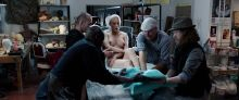 Olga Kurylenko - La Corrispondenza (The Correspondence) 2016 1080p nude naked bathing scenes