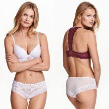Edita Vilkeviciute sexy H&M lingerie and bikini 2016 collection 17x UHQ photos