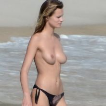 Edita Vilkeviciute and Sigute Krilaviciute nude on the beach St Barts 2014 April 68x HQ