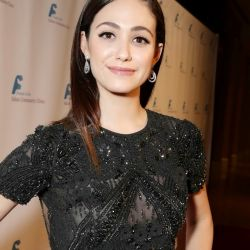 Emmy Rossum The Saban Community Clinic 37th Annual Dinner Gala in Beverly Hills see through 7x HQ