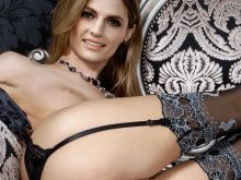 Stana Katic naked photo shoot show big ass and shaved pussy UHQ
