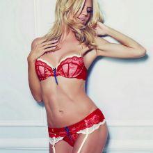 Heidi Klum see through lingerie Intimates collection 2016 Spring-Summer 13x HQ photos